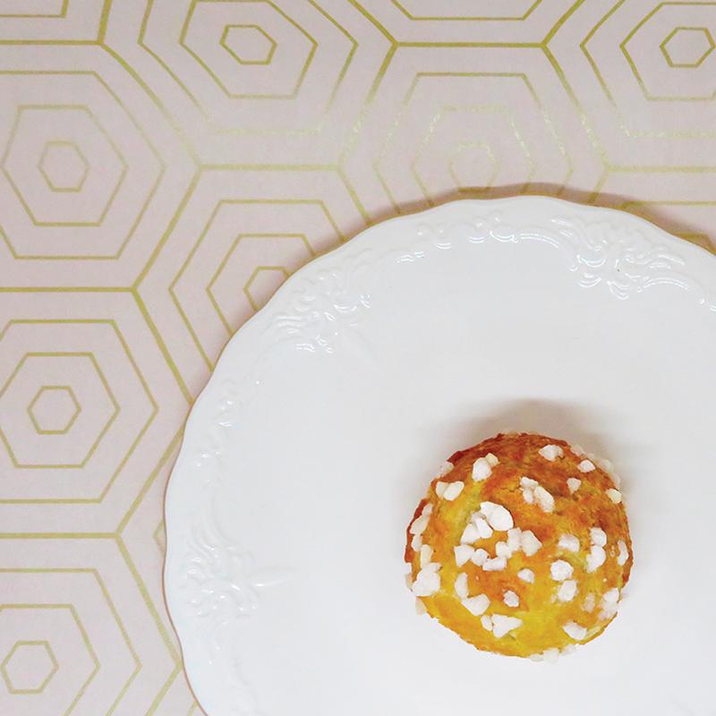 Pâte à choux : chou garni à la vanille