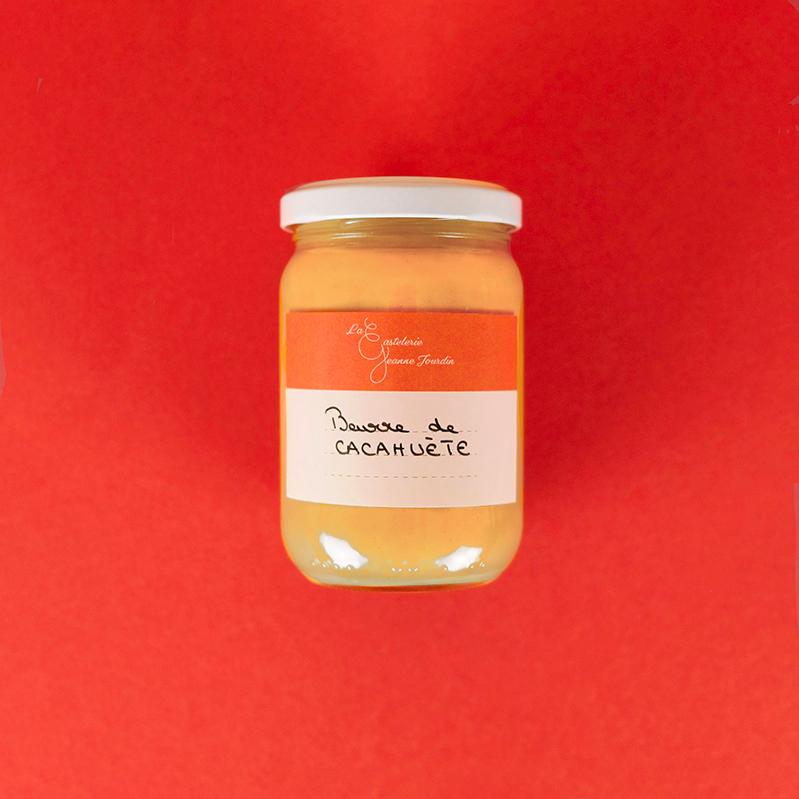 Beurre de cacahuète - Les pots de La Gastelerie