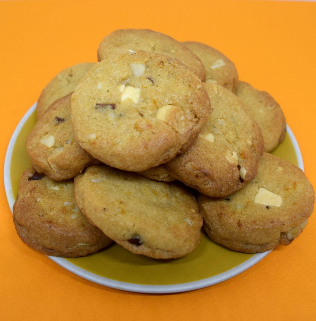 Mini Cookies Chocolat Blanc