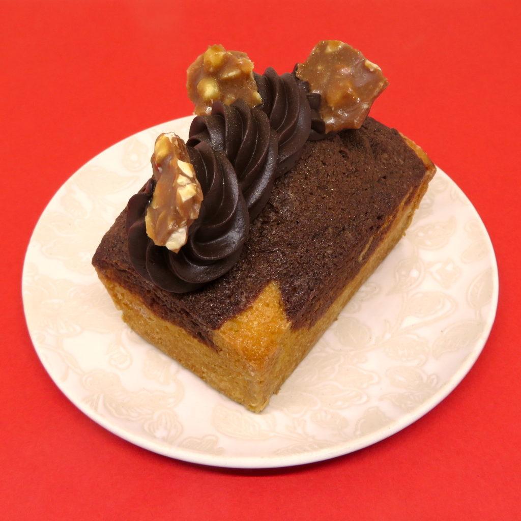 Cake marbré individuel